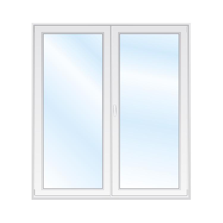 Porte-fenêtre 2 vantaux 180 cm