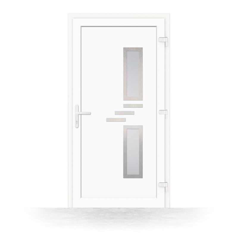 porte entree pvc versailles vue interieure