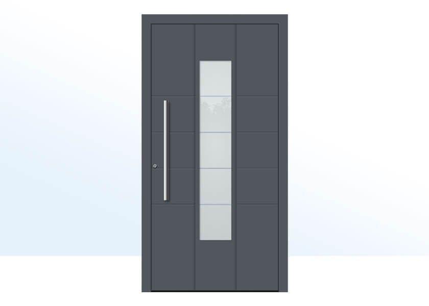 porte d'entree aluminium