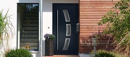 porte extérieure PVC gamme variée