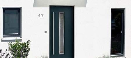 porte d'extérieur sécurité PVC