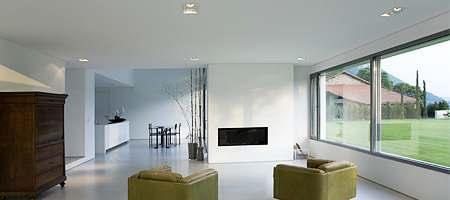 Fen tre panoramique sur mesure en pvc bois alu vitrage for Fenetre panoramique