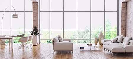 fen tre panoramique sur mesure en pvc bois alu vitrage cologique. Black Bedroom Furniture Sets. Home Design Ideas