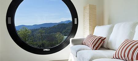 Connu Fenêtre ronde en bois, pvc et aluminium | fenetre24.com HK96