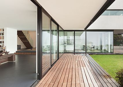 baie vitr e galandage prix pas cher sur mesure. Black Bedroom Furniture Sets. Home Design Ideas