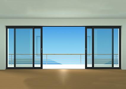 grande baie vitr e pas cher sur mesure. Black Bedroom Furniture Sets. Home Design Ideas