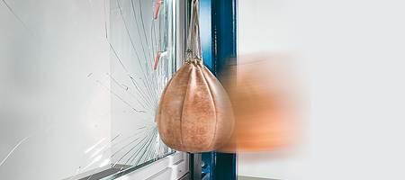 Fenêtre avec le verre feuilleté de sécurité