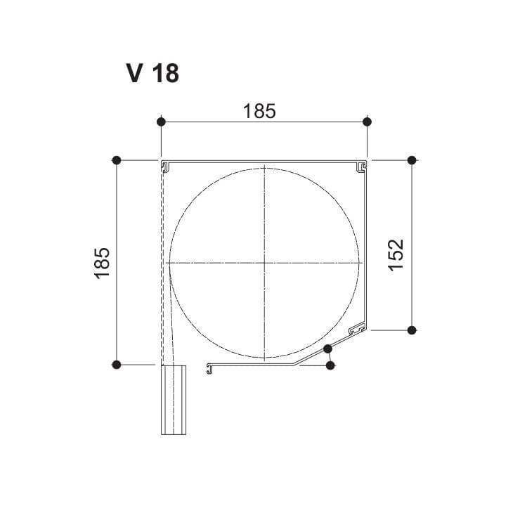 Nova - 185 (Hauteur maximale jusqu'à 2900 mm)