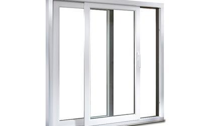 Baie vitrée 2 vantaux