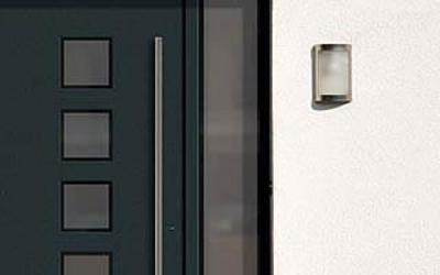 Portes d'entrée modernes