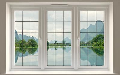 Fenêtre PVC 3 vantaux