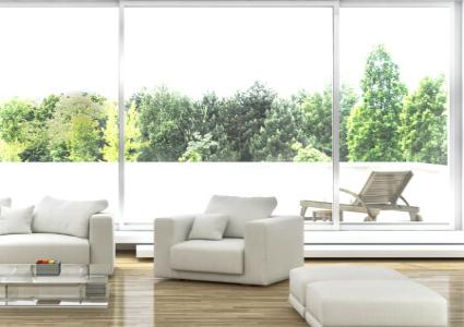 Baie vitrée PVC