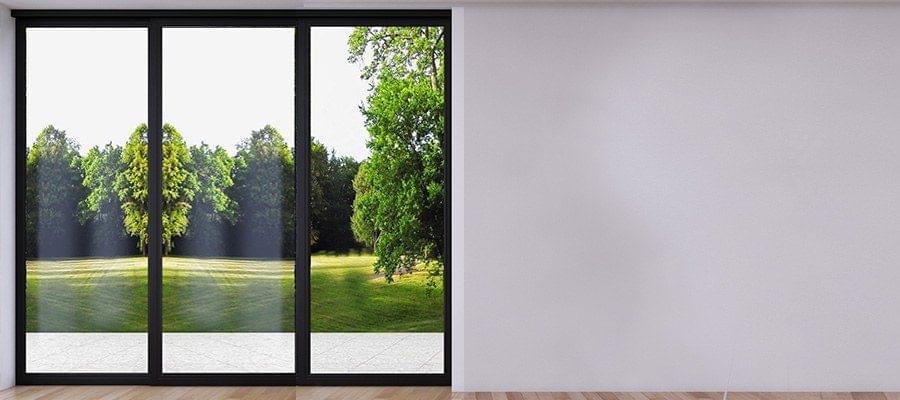 Baie coulissante 3 vantaux pvc bois alu portes terrasse - Prix baie vitree pvc ...