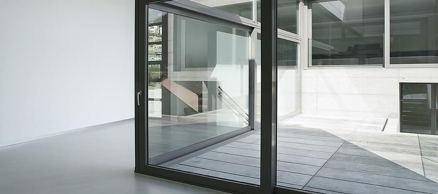 baie vitr e galandage rails coulissants pvc bois alu. Black Bedroom Furniture Sets. Home Design Ideas
