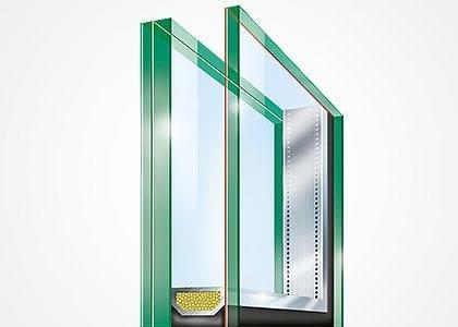 Baie vitr e verre de diff rents verres sont votre for Fenetre verre securit