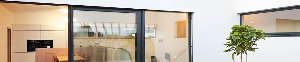 Vitrages pour baies vitrées