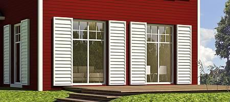 baie vitr e pvc avec volet roulant prix pas cher fenetre24. Black Bedroom Furniture Sets. Home Design Ideas