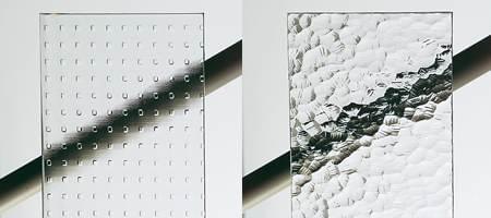 Protection visuelle de baies vitr es avec verres opaques for Fenetre carreaux de verre