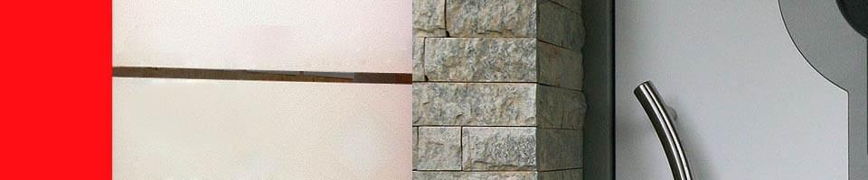 Design porte d'entrée en bois