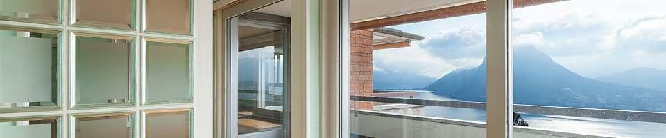 Fen tre panoramique sur mesure en pvc bois alu vitrage for La fenetre panoramique