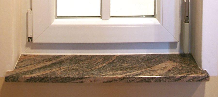 Appui de fen tre en marbre for Rebord de fenetre en pierre