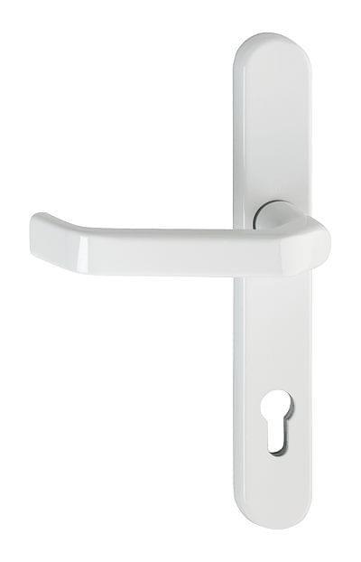 G chette int rieure de porte d 39 entr e pvc for Porte interieure en pvc blanche