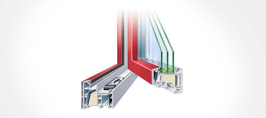 Fen tre kbe fabricant allemand de menuiseries ventilation for Profile pvc pour fenetre