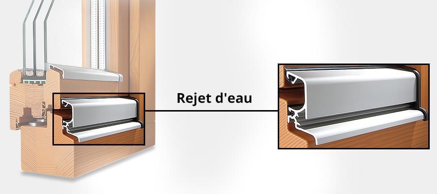 rejet d 39 eau fen tre goutti re syst me moderne de fen tres. Black Bedroom Furniture Sets. Home Design Ideas