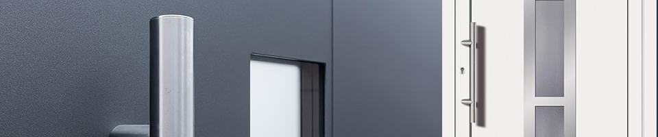 L'aluminium ou le PVC comme matériaux de portes d'entrée