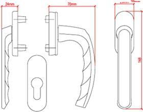 croquis de la fen tres bois menuiserie fabriqu e en. Black Bedroom Furniture Sets. Home Design Ideas