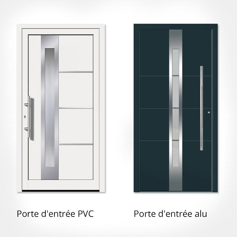 Protection pluie porte entree for Porte entree alu
