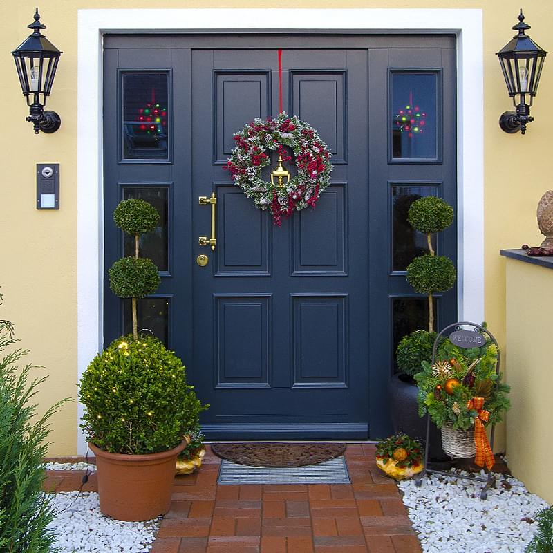 porte de maison alu pvc bois couleurs ral vitr e
