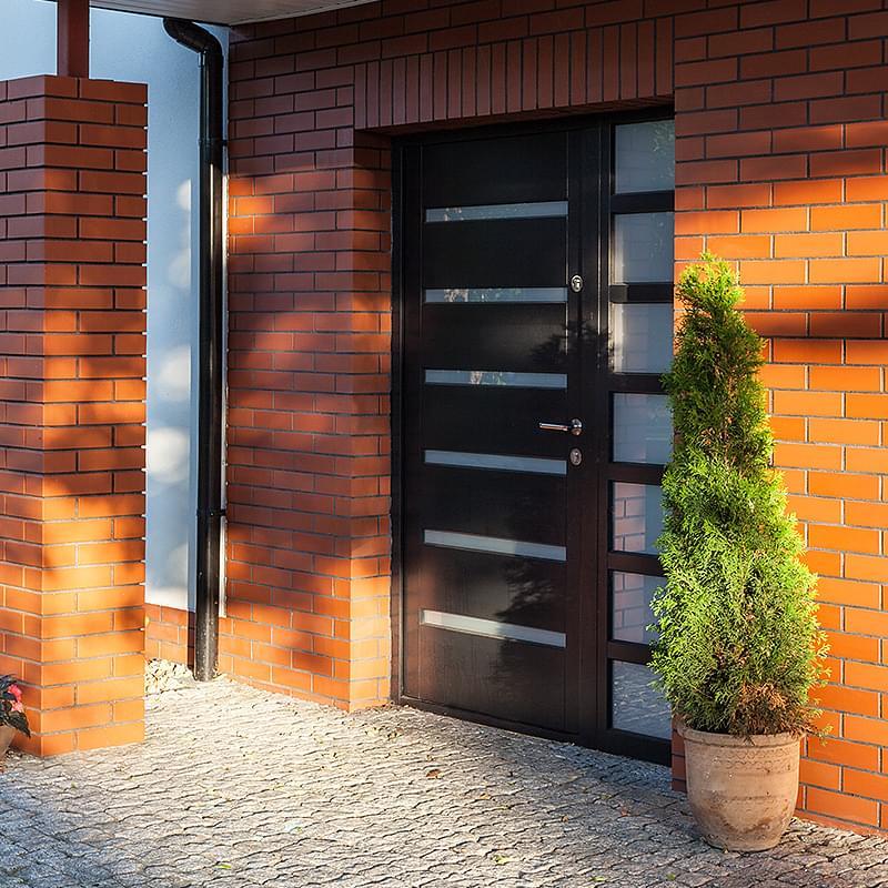 Top Porte de maison alu | PVC | bois | couleurs RAL | vitrée RW54