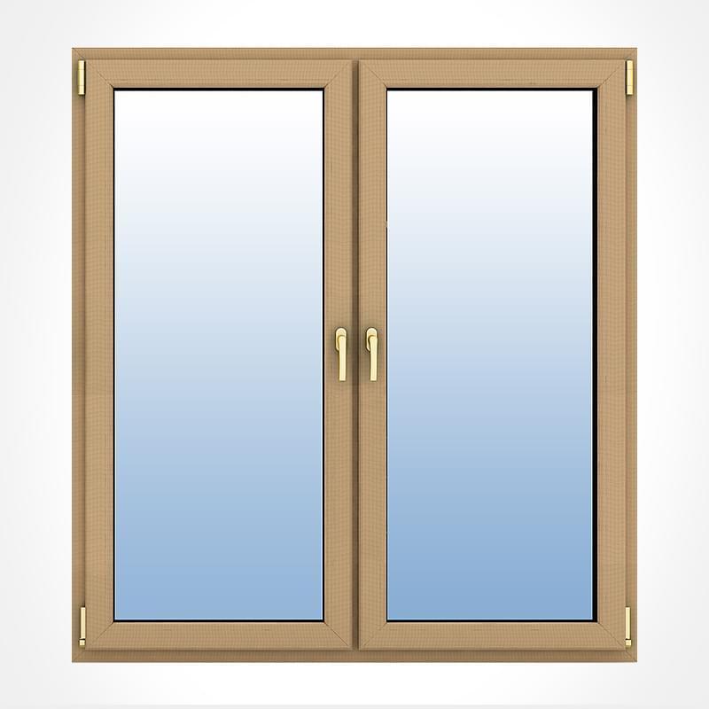 Porte fen tre bois 2 vantaux ou plus sur mesure fenetre24 for Porte fenetre bois