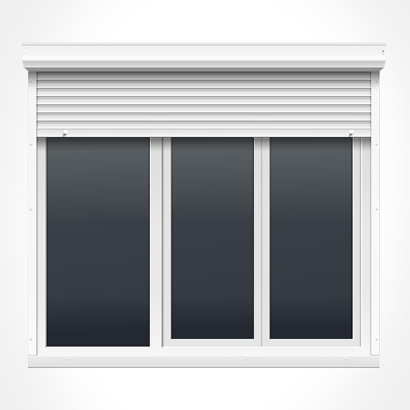 porte fen tre pvc 3 vantaux vitrage phonique ou thermique