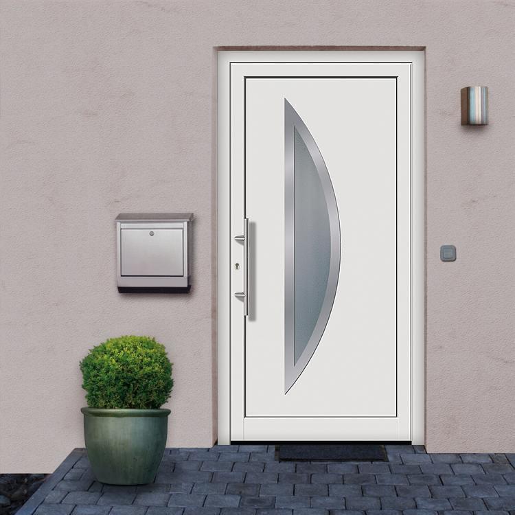 Portes d 39 entr e calais achetez porte en pvc pas cher - Montage porte d entree ...