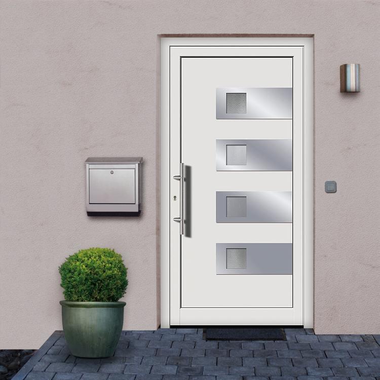 Portes d 39 entr e courbevoie achetez porte en pvc pas cher - Montage porte d entree ...