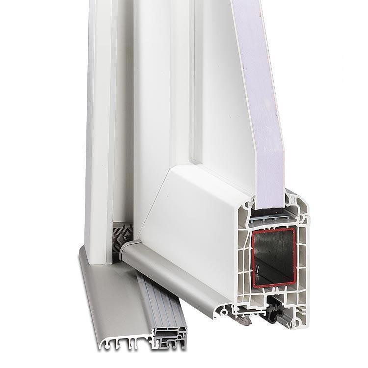 Aluplast IDEAL HT4000 - Profilé des portes d'entrée