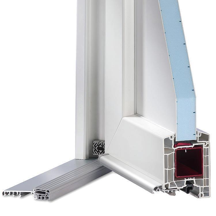 Aluplast IDEAL HTplus - Profilé des portes d'entrée