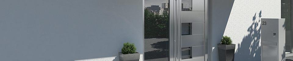 Portes d 39 entr e sch co modernit et qualit au petit prix for Porte fenetre pvc schuco