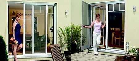 moustiquaire baie coulissante protection contre les insectes. Black Bedroom Furniture Sets. Home Design Ideas