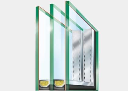 Vitrage Isolation thermique pour Fenêtres Bois-Alu